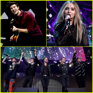 Shawn Mendes Joins Sabrina Carpenter & Why Don't We at iHeartRadio Jingle Ball 2018!