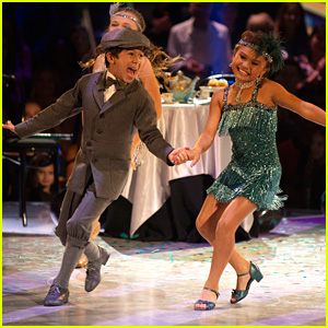 Sky Brown & JT Church Dance Into the Roaring '20s on 'DWTS Juniors' - Watch Now!