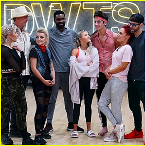 Milo Manheim & Evanna Lynch Dance To Dolly Parton in Group Freestyle For DWTS' Country Night Week #7