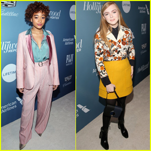 Amandla Stenberg & Elsie Fisher Celebrate THR's Power 100 Women In Entertainment!