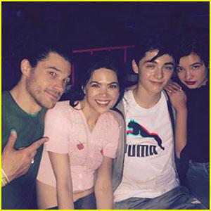 'Andi Mack' Cast Hits the Roller Skating Rink Together!