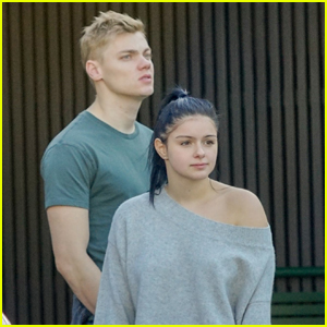Ariel Winter Goes Makeup-Free for Lunch with Levi Meaden!