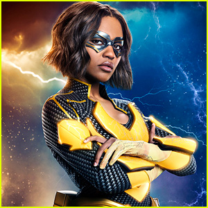 China Anne McClain Suits Up As Lightning in New Poster for 'Black Lightning'