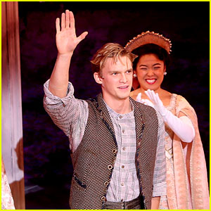 Cody Simpson Channels Dmitry in First 'Anastasia' Curtain Call!