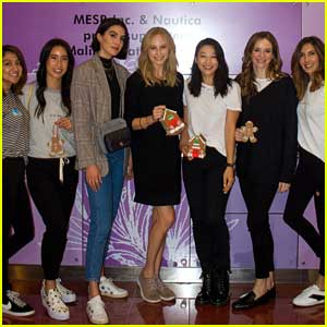 Danielle Panabaker Joins Candice King & Arden Cho at n:PHILANTHROPY's Volunteer Day at CHLA