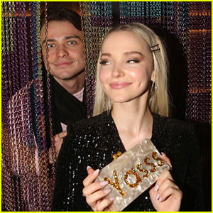 Thomas Doherty Cutely Sneaks Up on Dove Cameron at 'Clueless: The Musical' After Party