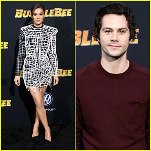 Hailee Steinfeld & Dylan O'Brien Premiere 'Bumblebee' In Hollywood!
