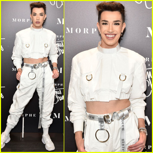 James Charles Looks Flawless For Meet & Greet in NY!