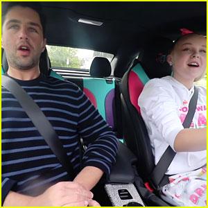 JoJo Siwa Takes Josh Peck For A Ride In Her D.R.E.A.M. Car!