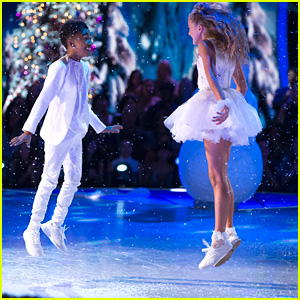 Miles Brown & Rylee Arnold Make Grand Entrance For 'DWTS Juniors' Finale - Watch Now!