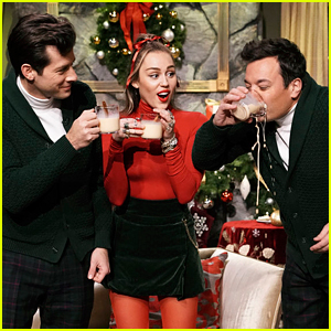 Miley Cyrus Sings a New Version of 'Santa Baby' Perfect for 2018!