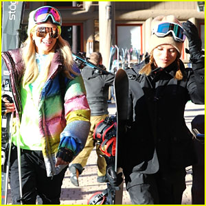 Sofia Richie & Paris Hilton Are Aspen Snow Bunnies