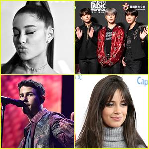 Ariana Grande, Shawn Mendes, Camila Cabello & More Top JJJ's Top 25 Musicians of 2018