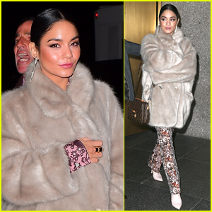Vanessa Hudgens Looks So Chic Promoting 'Second Act' in NYC!