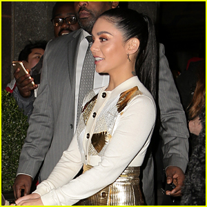 Vanessa Hudgens Opens Up About Filming 'Second Act' With Jennifer Lopez - Watch Now!