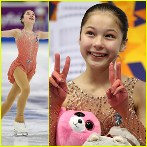 Figure Skater Alysa Liu Made History With a Triple Axel at US National Championships 2019