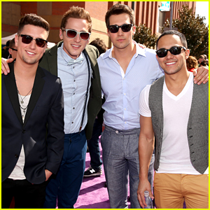 Carlos PenaVega's Former Big Time Rush Bandmates React to His Baby News!