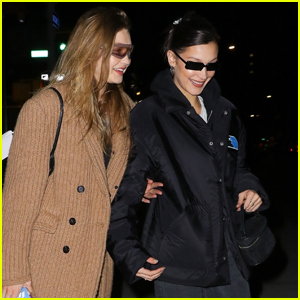 Gigi Hadid Joins Younger Sis Bella for Night Out!