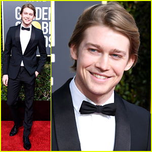 Joe Alwyn & Nicholas Hoult Bring 'The Favourite' To Golden Globes 2019