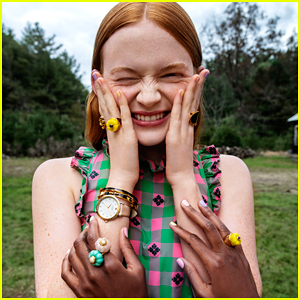 Sadie Sink Has a Girls' Weekend Away for Kate Spade's New Campaign!