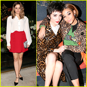 Josephine Langford, Rowan Blanchard, Amandla Stenberg & More Step Out for Miu Miu Event!
