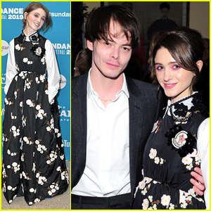 Natalia Dyer Gets Support From Charlie Heaton at Sundance Film Festival 2019