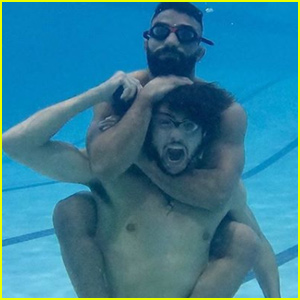 Noah Centineo Goes Shirtless For Underwater MMA Training Session!