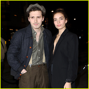 Brooklyn Beckham Supports a Good Cause with Girlfriend Hana Cross