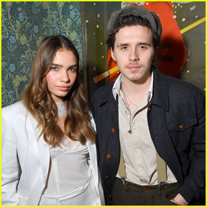 Brooklyn Beckham & Hana Cross Attend Victoria Beckham's YouTube Channel Launch Party!