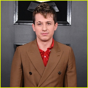 Charlie Puth Looks Sharp While Attending Grammys 2019
