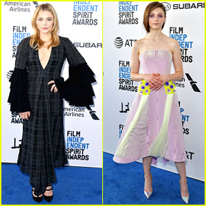 Chloe Moretz & Thomasin McKenzie Hit The Carpet at the Spirit Awards 2019