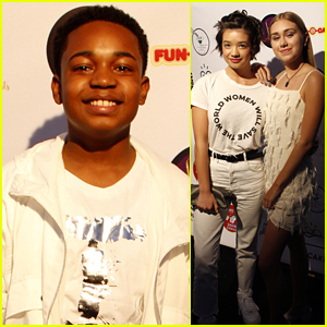 Issac Ryan Brown Throws Star-Studded Party For 'Goin' In' Single Release!