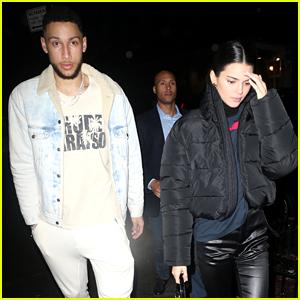 Kendall Jenner & Boyfriend Ben Simmons Go On a NYC Dinner Date