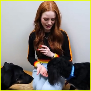 Madelaine Petsch Almost Took Home 5 Dogs In Her Latest Vlog After Visiting Animal Rehab Foundation