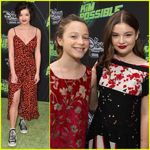 Peyton Elizabeth Lee Joins 'Fast Layne' Stars at 'Kim Possible' Premiere