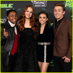 Sadie Stanley & 'Kim Possible' Cast Attend L.A. Premiere!