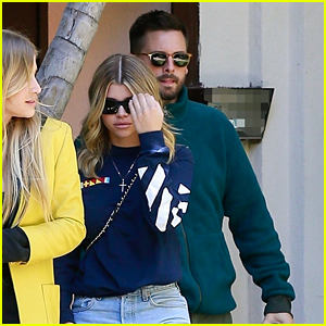 Sofia Richie & Scott Disick Spend Some Time With a Friend