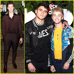 Shawn Mendes & Jack & Jack Attend Island Records Pre-Grammys Event
