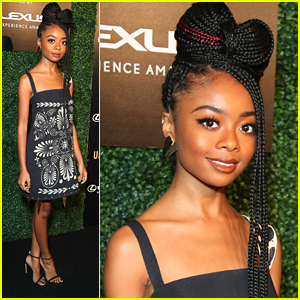 Skai Jackson Shares Skin Care Routine With Fans in New Video