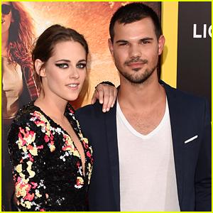 Kristen Stewart Attends Taylor Lautner's 27th Birthday Party