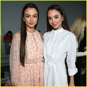 Vanessa & Veronica Merrell Step Out For Noon by Noor Fashion Show During NYFW