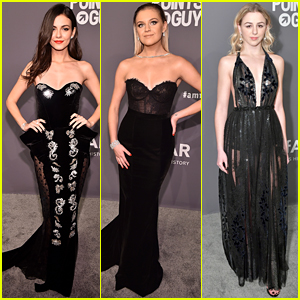 Victoria Justice, Kelsea Ballerini, & Chloe Lukasiak Get Glam for amfAR New York Gala 2019