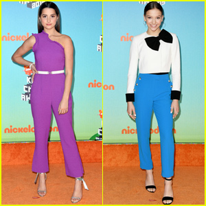 Annie LeBlanc & Jayden Bartels Rock the Orange Carpet at Kids' Choice Awards 2019!