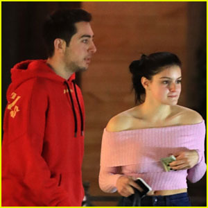 Ariel Winter & Joe Kaprielian Grab Saturday Night Dinner
