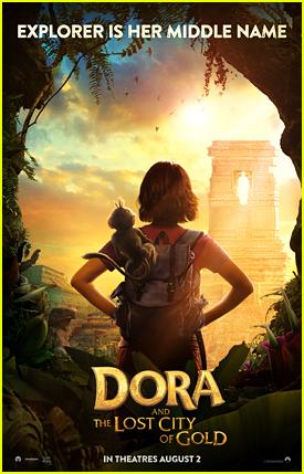 Isabela Moner Stars In First 'Dora The Explorer' Movie Poster