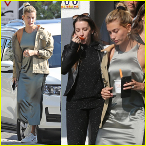 Hailey Bieber Spends the Day with Husband Justin's Mom!
