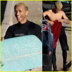Jaden Smith Hits the Beach in Malibu