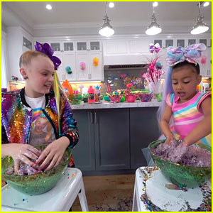 JoJo Siwa Babysits North West For A Day - Watch Now!