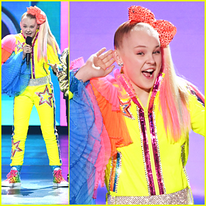 JoJo Siwa Picks Up Favorite Social Music Star at KCAs 2019!
