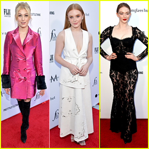 Katherine McNamara & Abigail Cowen Step Out in Style For The Daily Front Row Fashion LA Awards 2019
